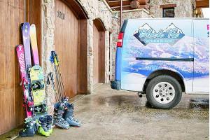 Black Tie Delivery Ski Rentals - We Come to You
