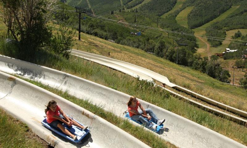 Alpine Slide at Park City Mountain Resort