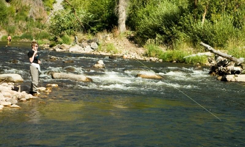 Park city utah lakes rivers waterfalls alltrips for Weber river fishing