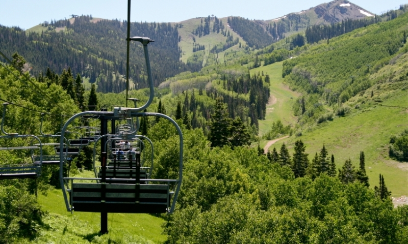 Scenic Chairlift on Park City Mountain