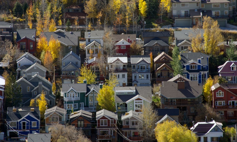 Houses in Downtown Park City