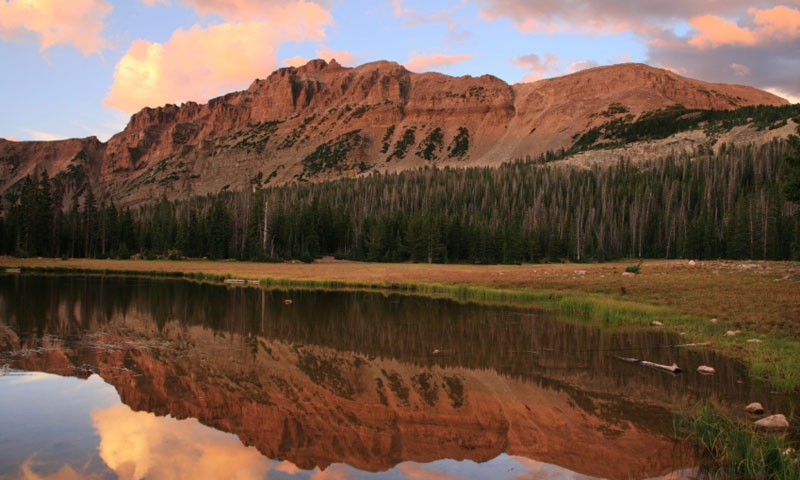 Uinta National Forest Mountains