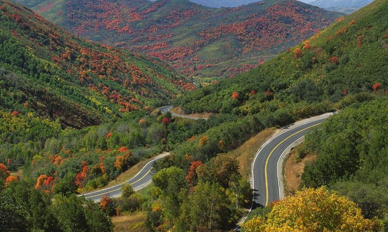 Wasatch Mountains Range In Utah Alltrips