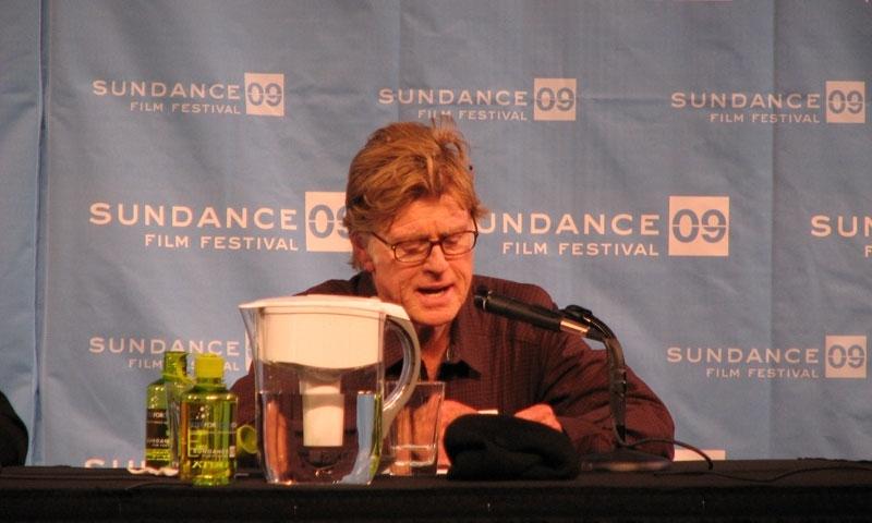 Robert Redford at the Sundance Film Festival