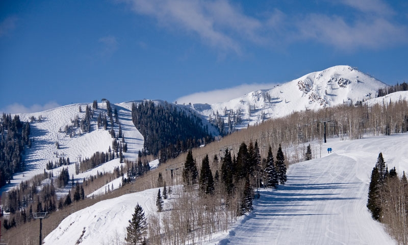 Park City Mountain Resort in Winter
