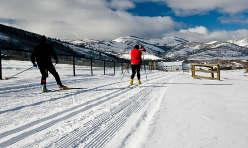Park City Utah Cross Country Skiing