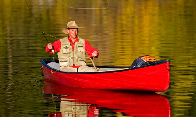 Canoeing Canoe Fishing