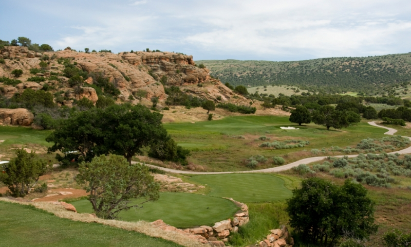 8th Green at Red Ledges Golf Club