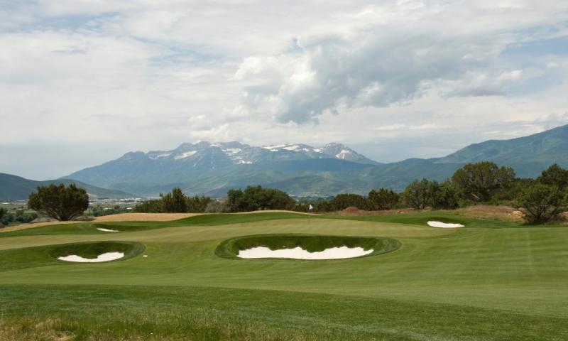 Park City Utah Golf Red Ledges