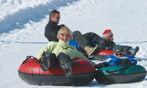 Park City Kids Snow Tubing