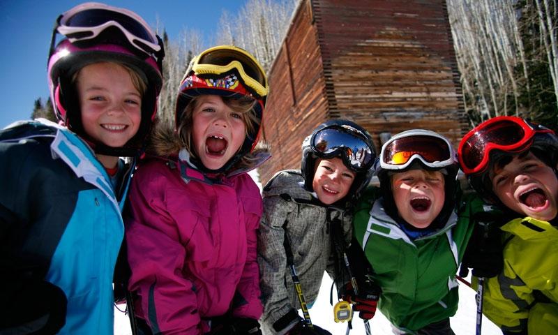 Kids having fun at Park City Mountain Resort