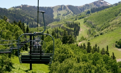 Park City Utah Recreation Scenic Chairlift