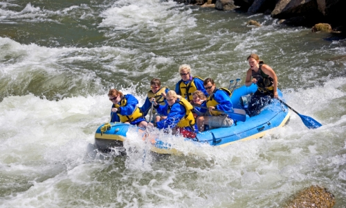 Park City White Water Rafting