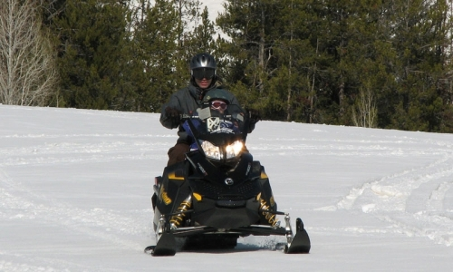 Snowmobile Park City Utah