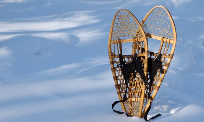 Snowshoeing Winter