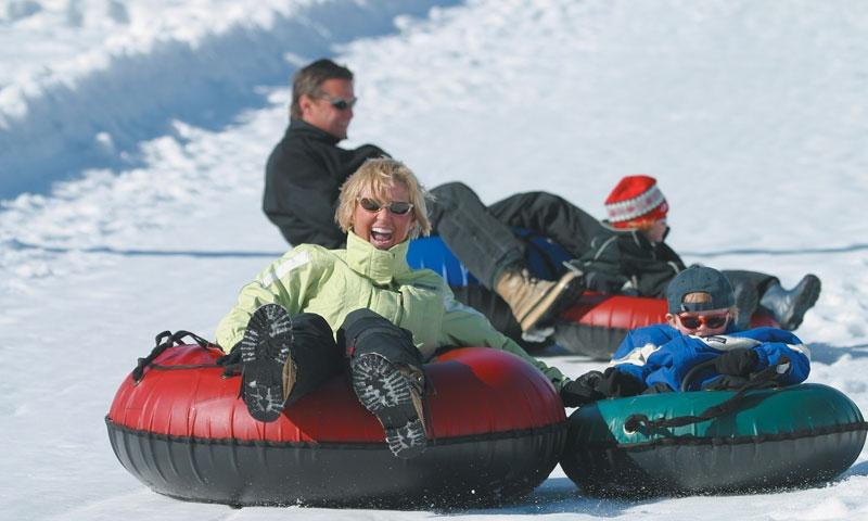 Snow Tubing at Park City Mountain Resort